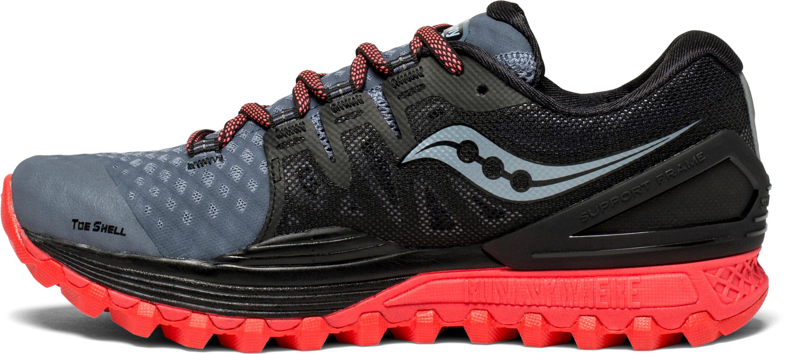 b6e046c23e1 saucony Xodus ISO 2 - Chaussures running Femme - gris noir ...